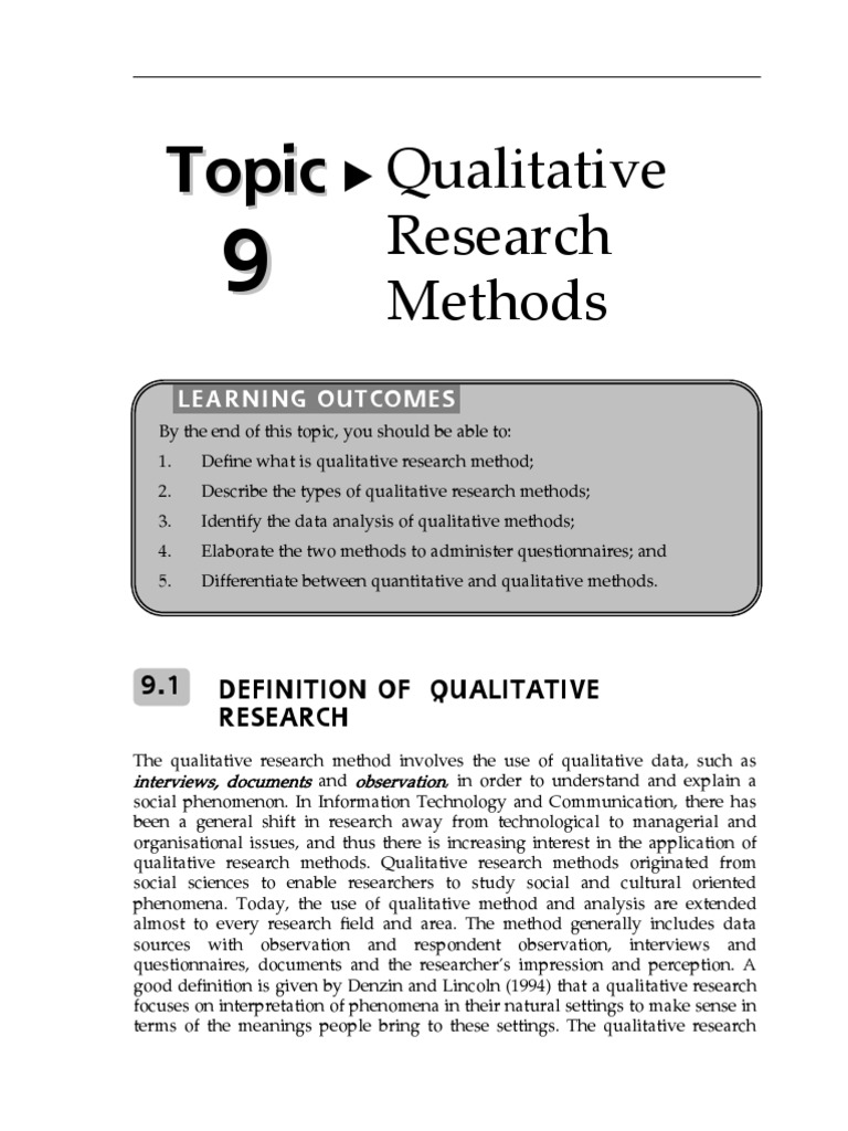 research methodology | qualitative research | quantitative research