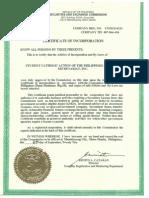 SCAP Certifications