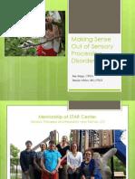 Making Sense Sensory Processing Disorder103114