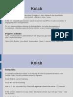 Kolab Manual