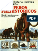 La Prehistoria Ilustrada Para Niños 02 Mamiferos Prehistoricos a Mc Cord Plesa 1977