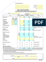 Co Hourly Labor Rate Worksheet