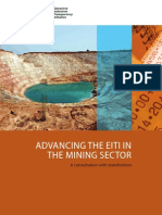 Advancing the Eiti in the Mining Sector - A Consultation With Stakeholders