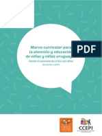 Marco Curricular Para Primera Infancia - 2015