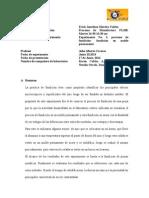 Informe de Laboratorio Procesos de Fundicion