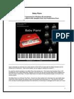 Zvon Baby PianoVST Manual