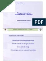 Tema 1.Identificación y Análisis de riesgos geológicos