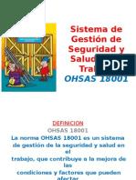 Diapositivas Para Expo.. Ohsas 18001
