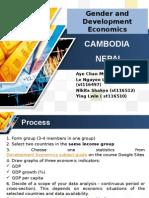 Compare Nepal & Cambodia