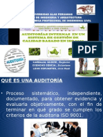 Auditoría Interna uap