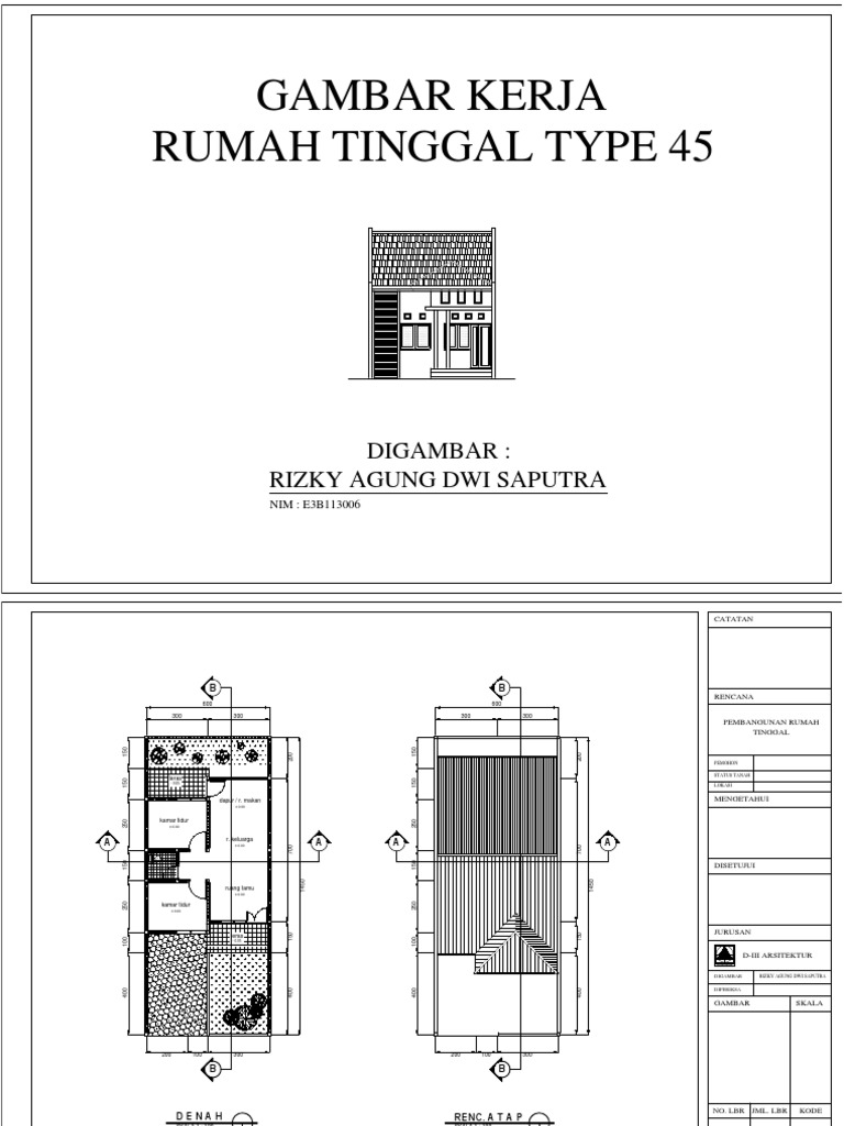 Rumah Type 45