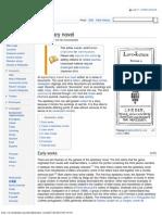 Epistolary Novel - Wikipedia, The Free Encyclopedia