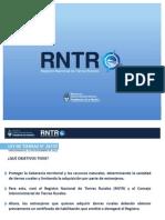 Registro Nacional de Tierras Rurales Ley de Tierras 26737