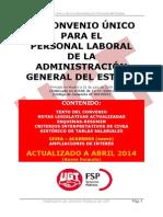 III Convenio Único AGE Abril 2014 UGT