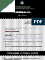 Interlanguage - Selinker