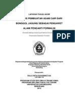 Pirolissin sebagain pengganti formalin
