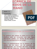 Biomecanica de Los Dedos de La Manoo
