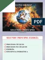 Termo 3. Segundo Principio. Exergia