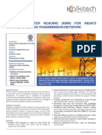 CS_Automatic Meter Reading (AMR) for India's Northern Region Transmission Network