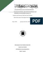 Analisis Perancangan Sistem Industri