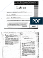 Prosas Del Martín Fierro (Selección)