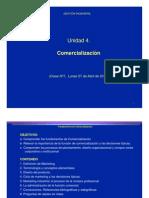 Gestion - 4 - Unidad 4- Comercializacion - 2015