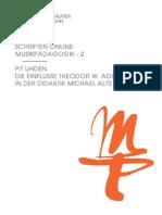 2013 Uhden Hmt Schriften Online Mp 2
