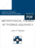 Metaphysical Themes in Thomas Aquinas II (Studies in Philosophy & the History of Philosophy)