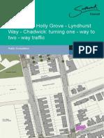 Southwark Council - Bellenden Road redesign