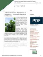 Nutrición Forestal_ Análisis Foliar Como Herramienta de Diagnóstico y Recomendación Para La Fertilización