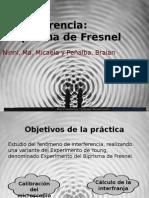 Biprisma Fresnel