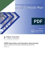 FCCA Amenities Master Plan