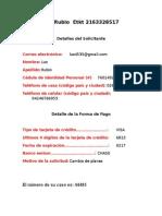 Datos de Reembolso COPAS