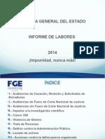 Informe de Labores 2014
