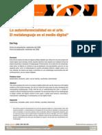 Puig. La autorreferencialidad en el arte.pdf