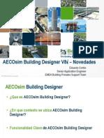 Novedades AECOsim Building Designer SS5