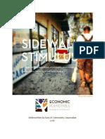 Sidewalk Stimulus
