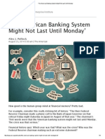 'the American Banking System Might Not Last Until Monday'4777