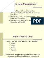 Master Data Management Presentation