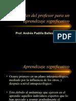 Variables Del Profesor