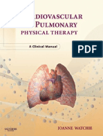 Cardiovascular and Pulmonary Physical Therapy - Watchie, Joanne [SRG]