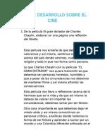 Guia de Desarrollo Sobre El Cine