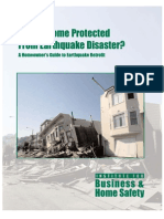 Is Your Home Protected From Earthquake Disaster? A Homeowner's Guide to Earthquake Retrofit