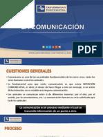 01 La Comunicación y Hecho Comunicativo