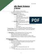 Basic Science-Rehabilitation Syllabus