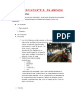 Agroindustria en Ancash