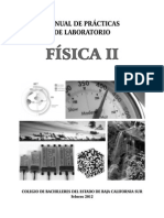 Manual de Practicas de Laboratorio Fisica II