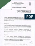 Edital Chefia de Gabinete 001 de 2014 - Apoio a Eventos Agosto a Dezembro de 2014