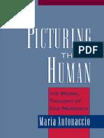 Maria Antonaccio- Picturing the Human the Moral