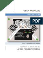 User Manual Indikator Tandon Air Argan Kukuh